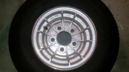 """Trailer wheel & tyre new 10"""" Redcliffe Redcliffe Area Preview"""
