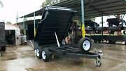 10 x 6 3.2T Gross Hydraulic Tipper Tandem Trailer Epsom Bendigo City Preview