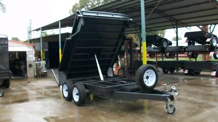 10 x 6 3.5T Gross Hydraulic Tipper Tandem Trailer Epsom Bendigo City Preview