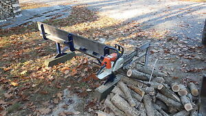 Firewood Chopsaw and Chainsaw