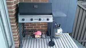 Jumbuck Four-Burner  BBQ with Gas Cylinder Old Toongabbie Parramatta Area Preview