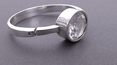 VINTAGE Armband Armreif Silber silver Franz SCHEUERLE MODERNIST Bergkristall