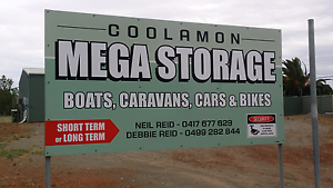 Storage Shed Equivalent to 2  20ft shipping containe rs Coolamon Coolamon Area Preview