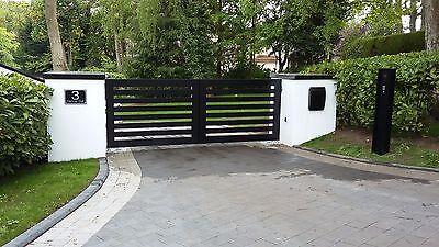 Aluminium Gates, Handmade in UK