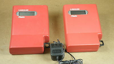 Lot Of 2 Hemocue B-hemoglobin Photometers W 1 Power Supply- Parts
