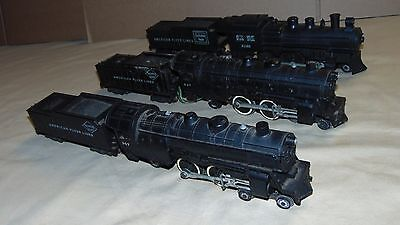 FLYER S GAUGE 307 - 307 - 21166 STEAM ENGINE AND TENDER