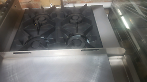 Brand New 6 burner commercial gas cooktop with oven and hot plate Richmond Yarra Area Preview