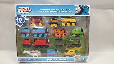 Thomas & Friends TrackMaster Sodor Steamies Train Engines & vehicles Set 10 NEW