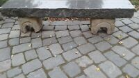 Sandstein Unterteile antik für Bank aus Holz oder Stein Sachsen - Hainewalde Vorschau