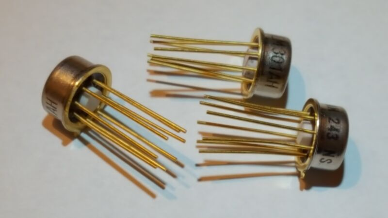 3 pcs - LM301AH (243 N.S.)  OP AMP - x3 THREE - FAST SHIPPING national semicond