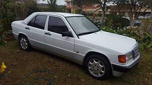 1993 Mercedes-Benz 190 Sedan Blue Haven Wyong Area Preview