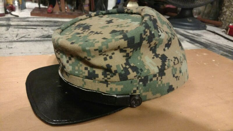 Civil War USMC Camo Kepi Hat
