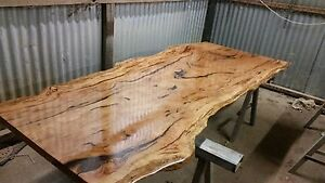 Custom timber slab and hardwood slabs furniture and tops Austral Liverpool Area Preview