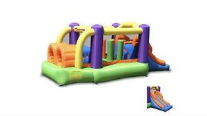 Location Jeux gonflables avec obstacles et châteaux