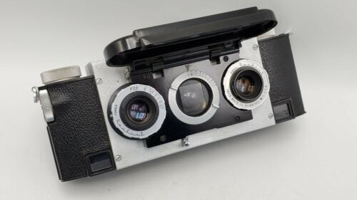 Rare - David White Olden Stereo Realist F2.8 35mm Lens Rangefinder Camera 1042