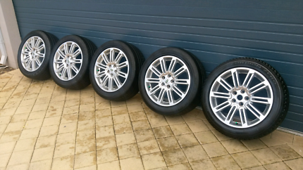 "Land Rover Discovery 3/4 20"" Wheels x5"