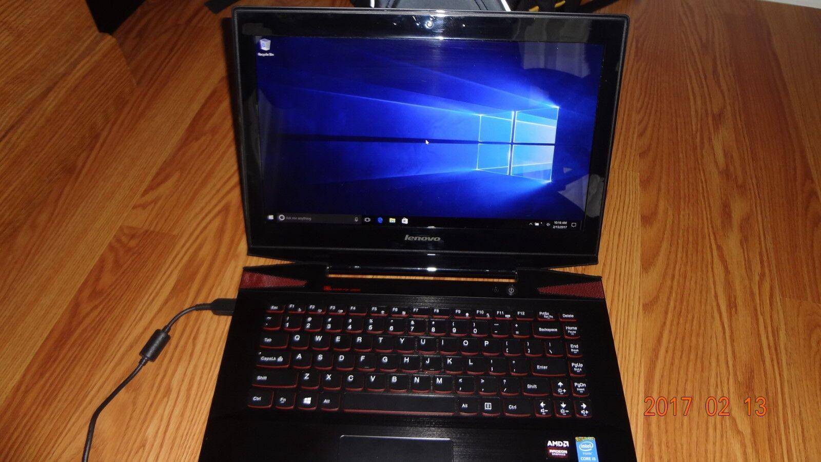 Lenovo Y40-70 Fast Gaming Laptop 4th Gen. Intel i5, 16GB DDR3,AMD Radeon R9 M275