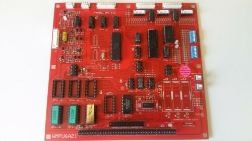 Williams System 3 - 6 MPU (Red Masked)