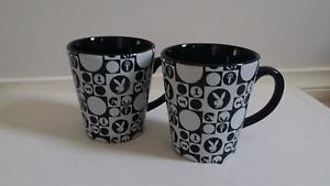 Playboy Coffee Mugs x2 Footscray Maribyrnong Area Preview