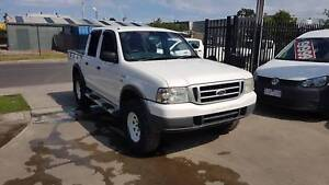 2005 Ford Courier Duel Cab Ute 4x4 LOW KMS Williamstown North Hobsons Bay Area Preview