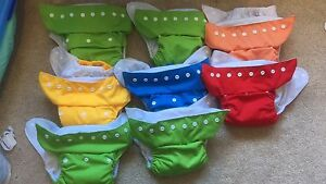 16x cloth reusable nappies Kambah Tuggeranong Preview