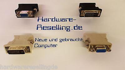 1x DVI VGA Adaptador, DVI-I ENCHUFE 24 + 5 pol. => 1x CONECTOR VGA Negro OR Gris, usado comprar usado  Enviando para Brazil