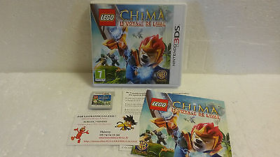 Jeu Vidéo Nintendo 3DS/2DS Lego Legends of Chima : Le Voyage de Laval Lion VF