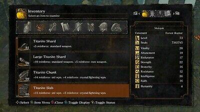 Dark Souls Remastered | ALL UPGRADE MATERIALS | IN-GAME ITEMS | XBOX ONE, usado comprar usado  Enviando para Brazil