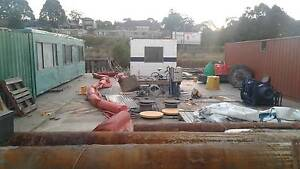 27mtrs x 17.5mtrs ex 35t cap nsw government crane barge for sale Rozelle Leichhardt Area Preview