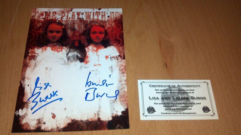 The Shining Grady Twins Autograph Kubrik 7x5 print picture Nerd Horror Block