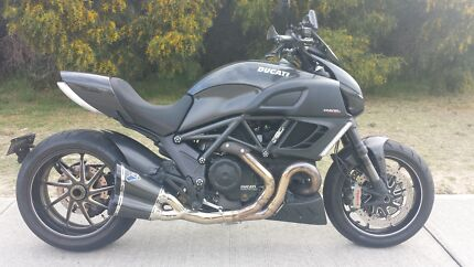 2012 Ducati Diavel Black Carbon Coogee Cockburn Area Preview