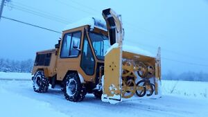 Snow Plow Blower Tractor MT5 Trackless Excellent Condition