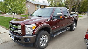 2015 F350 Superduty fully loaded King Ranch.