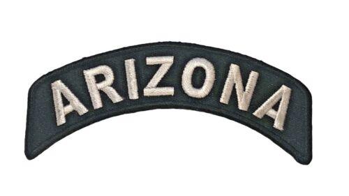 Arizona Rocker State Of 1 x 4 inch Biker Patch IV1430 F2D36J