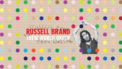 Russell Brand - Trew World Order Tickets x2 (Sydney Show) Shellharbour Shellharbour Area Preview