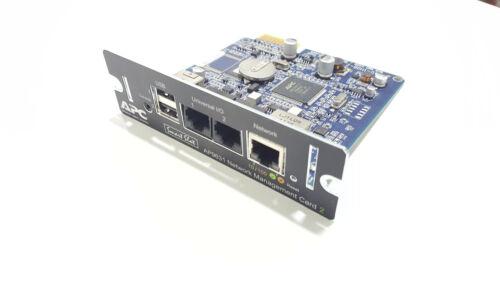 AP9631 APC UPS NETWORK MANAGEMENT CARD ENVIRONMENTAL MONITORING
