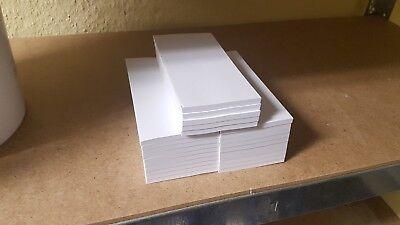 25 Kellnerblock,Kellnerblöcke,Notizblock  7 x 14,8 cm, Sonderposten