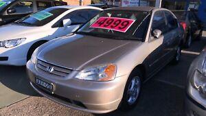 2002 Honda Civic GLi ! Serviced & Inspected ! Auto !  Granville Parramatta Area Preview