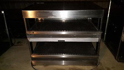 Hatco Crtb-29ssl Countertop Heated 2 Shelf Food Warmer Merchandiser Warming Unit