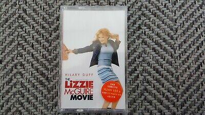 Hilary Duff The Lizzie McGuire Movie Soundtrack Korea Cassette Tape New Sealed