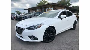 2014 Mazda Mazda3 GT-SKY MOON ROOF NAV LEATHER REARVIEW CAMERA
