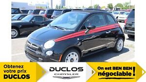 2017 Fiat 500C Pop*CABRIOLET*ACCENTS ROUGE*