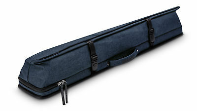 New Predator Urbain Rugged Hard Pool Cue Stick Case - 2 Butts x 4 Shafts - BLUE