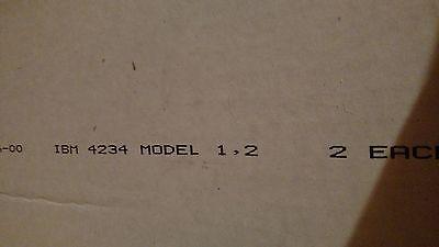 Lot of 2 IBM 4234 Printer Black Ribbons Cartridge Model 1/2 (Model 1 Printer Ribbon)