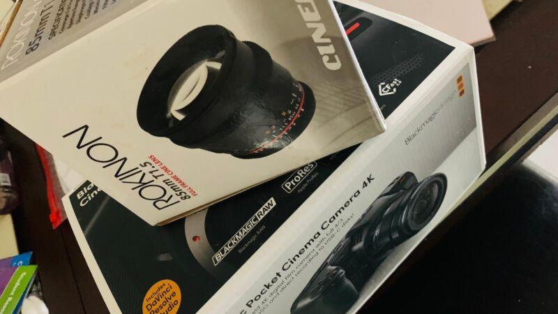 Blackmagic Design Pocket Cinema Camera 4K Camcorder - Black