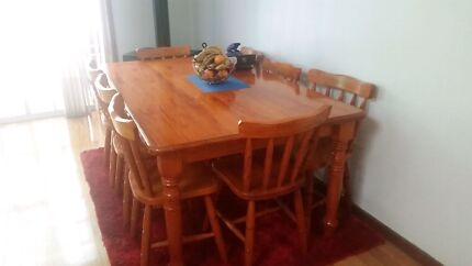 Solid timber furniture  Rosemeadow Campbelltown Area Preview
