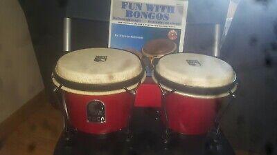 Toca 6.5 Inch 2200RR bongos W/book & CD (Bongos Book)