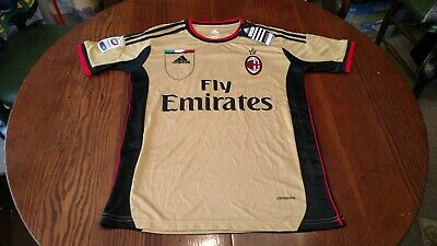 Adidas Climacool AC Milan Soccer Jersey Serie A NWT Men's Small #14