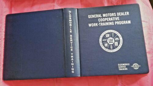 GM Dealer cooperative work-training program MT Oldsmobile binder