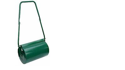 GARDEN LAWN METAL MANUAL GRASS ROLLER  38L - SAND FILLED